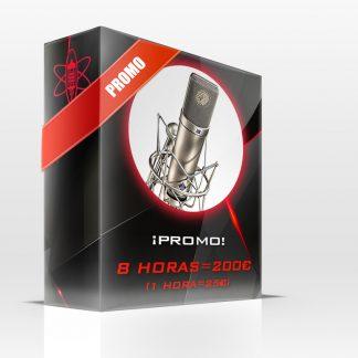 Estudio de grabación Las Palmas Promoción